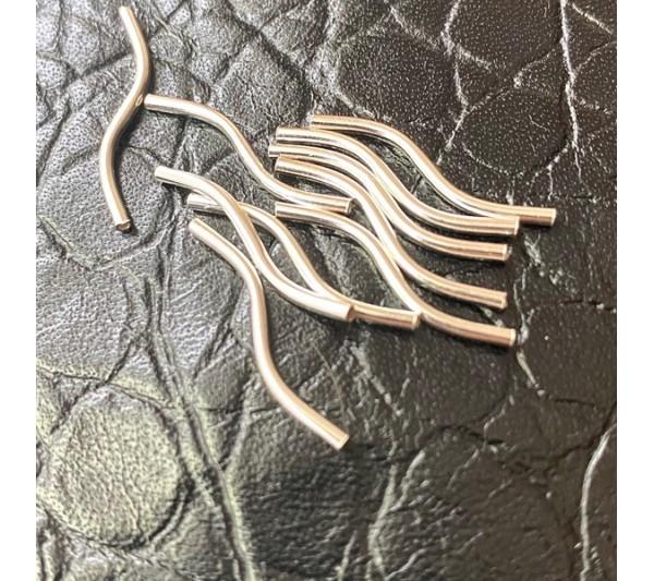 Тръбички от сребро 925 - дистанционери