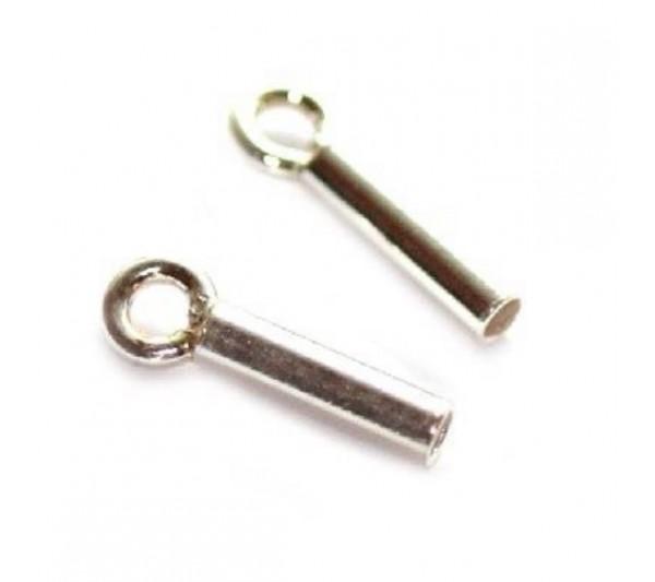 Накрайник от сребро 925 - 1 мм