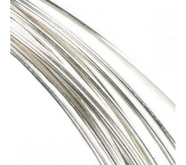 Сребърна бижутерска тел 0.5 мм